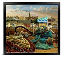 """""""This is Maryport"""", Framed Print"""
