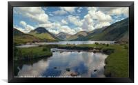 """""""Cloud reflections Wastwater"""", Framed Print"""