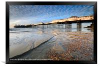 Stream and Palace Pier (Brighton), Framed Print