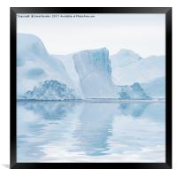 Cool Reflections, Framed Print