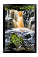 Nelly Ayre Falls, Framed Print