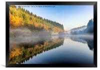 Staindale Lake In Autumn, Framed Print