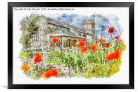 St Mary the Virgin, South Wootton, Framed Print
