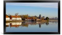 Langstone Mill and The Royal Oak Public House, Framed Print