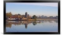 Langstone Mill, Framed Print