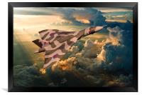 2015 The Last Tour of XH558, Framed Print