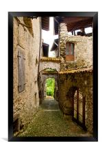 Rustic and Timeless, Framed Print