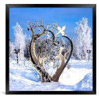 Some Hearts Are Diamonds..., Framed Print