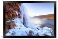 The Faxi Waterfall, Framed Print