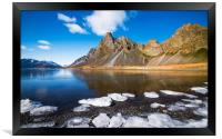 Water and Ice, Framed Print