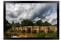 Stopham Bridge, near Pulborough, Framed Print