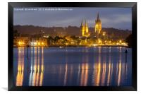 Truro Cathedral , Framed Print