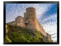 The Mighty Bamburgh Castle, Framed Print
