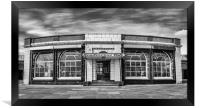 The Rendezvous Cafe in Mono, Framed Print