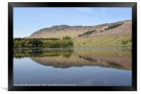 Loch Lubhair in the Highlands of Scotland, Framed Print