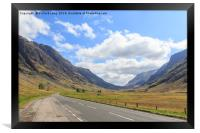 Glen Coe, Framed Print