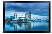 The Lowry at Salford Quays, Framed Print