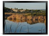 End of the day in Quinta do Lago, Framed Print