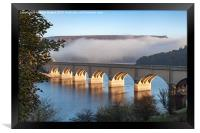 Creeping Mist over Ladybower, Framed Print
