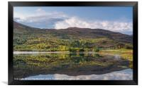 Loch Carrie Reflections, Framed Print