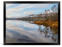 Loch Meiklie After the Rain, Framed Print