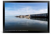 West Kirby Cloudscape     , Framed Print