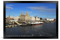 Liverpool Waterfront, Framed Print
