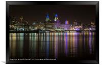 Liverpool Waterfront   , Framed Print