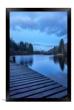 The Blue Hour, Loch Ard, Framed Print