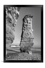 Lot's Wife sea-stack, Framed Print