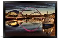 Millennium Bridge, Framed Print