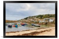 Mousehole cornwall , Framed Print