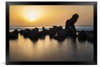 Tenerife sunset , Framed Print