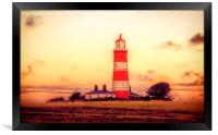 Happisburgh Lighthouse, Framed Print