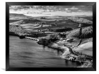 Ladybower Light, Framed Print