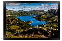 Lake Ullswater From St Sunday Ascent, Framed Print