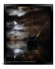 RRS Discovery Ship - Dundee, Framed Print