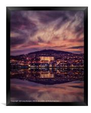 Dundee Reflections on the Tay, Framed Print