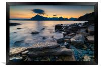 Elgol and the Cuillin Mountains, Framed Print