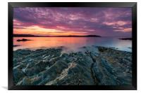 Carrick Roads Sunrise, Framed Print