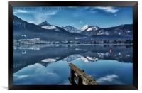 Cool Waters Of The Wolfgangsee, Framed Print