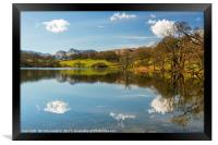 Loughrigg Tarn Lake District Cumbria, Framed Print