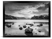 Derwent Water in the Lake District, Framed Print