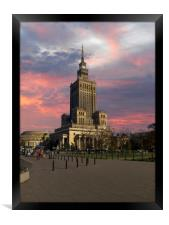 Palace of Culture and Science, Framed Print