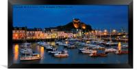 Ilfracombe by night, Framed Print