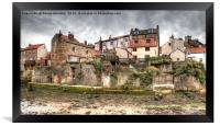 Old Staithes Houses, Framed Print