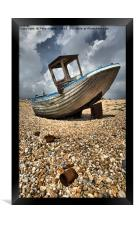 Old Dungeness Fishing Boat, Framed Print