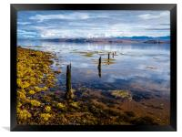 Loch Ewe, Poolewe, Scotland., Framed Print
