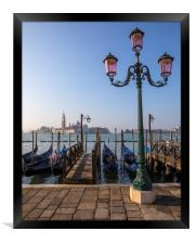 View Towards San Giorgio Maggiore from the Main Is, Framed Print