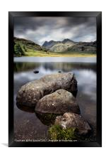Blea Tarn to the Pikes, Framed Print